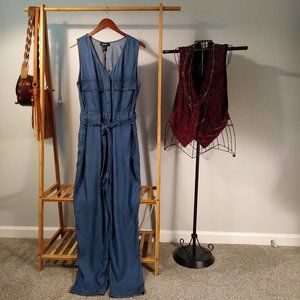 NWT DKNY Romper Jumpsuit Party Western M